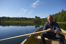 Livepodd i Lund med Lasse Holm