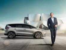 Skuespiller Kevin Spacey bliver ambassadør for den nye Renault Espace