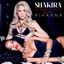"Världspremiär för Shakiras nya singel ""Can't Remember To Forget You"" feat. Rihanna"