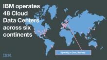 IBM öppnar Nordens första molndatacenter