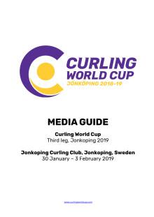Media guide Curling World Cup Jönköping 2019