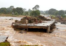PMU hjälper cyklondrabbade i Moçambique och Zimbabwe
