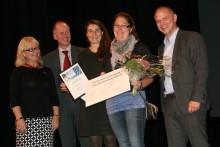 Marie Hansson Palstorpshage prisades som innovativ företagare