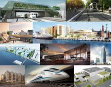 Tio megaprojekt i Sydsverige – alla får stor betydelse för entreprenörer