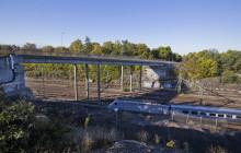 Stockholms stad bygger ny bro över stambanan i Västberga Allé
