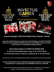 Skridt nærmere Invictus Games