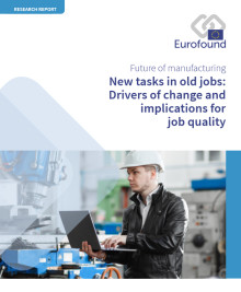New tasks in old jobs: Manufacturing in Europe increasingly driven by automation