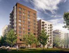 Inbjudan till byggstart av 209 lägenheter i Flemingsberg