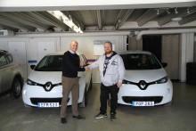 Fler och fler kommuner väljer elbilar - Renault ZOE till Sveg