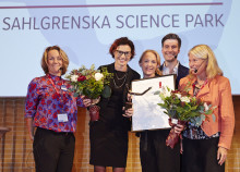 1928-grundarna vinnare av Arvid Carlsson Award by Sahlgrenska Science Park 2018