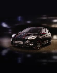 Ford Schweiz lanciert zur Feier der 60. Rallye International du Valais das Fiesta Sondermodell Panther Edition