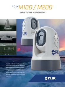 FLIR M100/200 Marine Thermal Vision Cameras