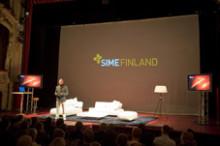 Succé för första SIME ( Scandinavian Interactive Media Event) i Helsingfors