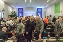 Fullsatt Vreta Kluster firar fem år – en heldag i matens och lantbrukets tecken