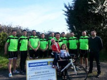 Local Norfolk team pedal the streets for children's charity