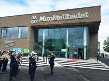 Sveriges första simhall i guldklass invigd