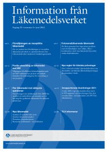 Information från Läkemedelsverket nr 4 2012