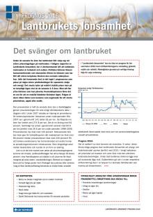 Lantbrukets lönsamhet - våren 2016