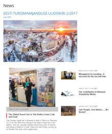 Estonian Hospitality & Tourism Industry Newsletter 2.0