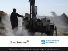 Läkarmissionen and IAS/Sweden are planning a merger for a stronger future