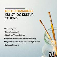 Søk kunst- og kulturstipend av Oslo kommune!