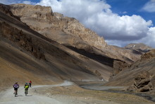 Conquer the Himalayas in the saddle