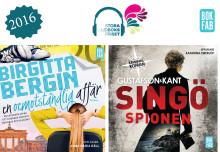 Bokfabrikens titlar nominerade till Stora Ljudbokspriset!