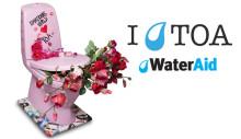 DV:s toa samlar pengar till WaterAid