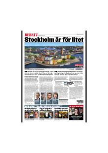 Stockholm är för litet
