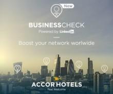 AccorHotels och Linkedin samarbetar för att stärka kundernas företagsnätverk