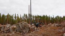 Grovjobb i Midskog för ny ledning