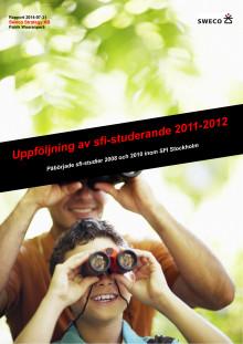 Rapport, uppföljning av sfi-studerande