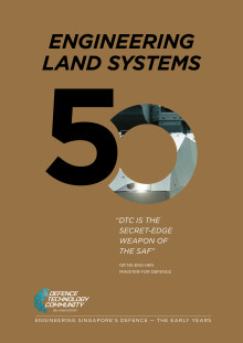 Defence Technology Community's 50th Anniversary Commemorative Book - Engineering Land Systems