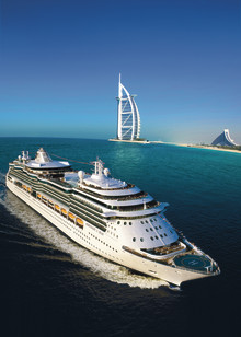 Royal Caribbean International introduserer Dubai i sitt cruise program igjen