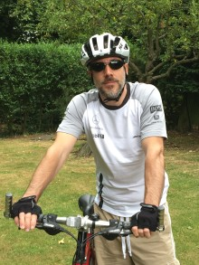 Hertfordshire stroke survivor set to tackle Thames Bridges Bike Ride