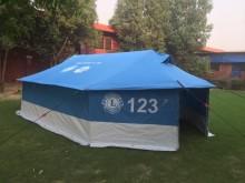 571 tält från Lions till flyktingar från Mosul