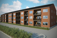 Nya lägenheter på Kortedala Torg