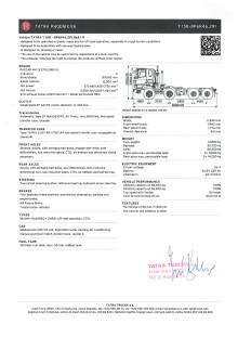 Tatra Phoenix Euro 6 – faktablad