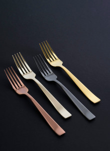 From Champagne to Black - Sambonet cutlery in new colours