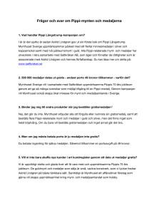 Frågor och svar om Pippi-mynten och medaljerna