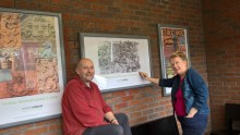 Winsford station artwork celebrates local history