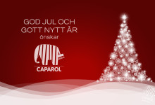 God Jul önskar Caparol
