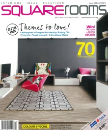 Evorich Flooring feaured on the latest issue of Squarerooms Magazine