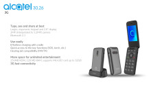 Produktblad Alcatel 3026