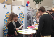 Region Skåne synliggjorde inkubatorer och science parks på arbetsmarknadsmässa för studenter