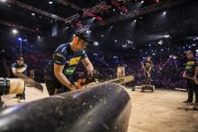 Framgångsrikt VM för svenska  landslaget i Timbersports