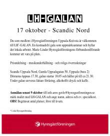 PRESSINBJUDAN: Gala för lokalt engagemang i Uppsala och Knivsta
