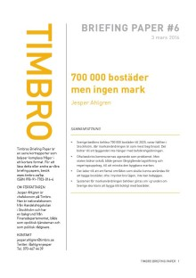 Bostadskrisen: 700 000 bostäder men ingen mark