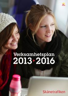 Skånetrafikens verksamhetsplan 2013-2016