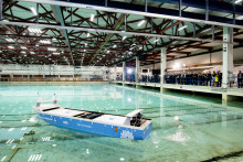 "Kongsberg Maritime: Final design of ""Yara Birkeland"" revealed – model commences testing at SINTEF Ocean"